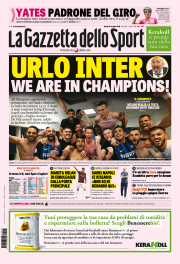 prima pagina gazzetta